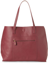 under one sky Wine & Bone Reversible Faux Leather Tote