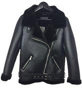 Zara Women's Faux fur collar biker jacket 2969/269