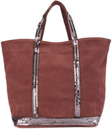 Vanessa Bruno Cabas tote - women - Suede/Sequin - One Size