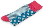 Ted Baker Geo Diamond Socks