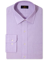 Club Room Estate Classic-Fit Wrinkle Resistant Lavender Solid Dress Shirt, Only at Macy's