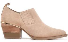 DKNY Roxy Suede Ankle Boots