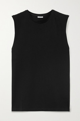 Ninety Percent Net Sustain Organic Cotton-jersey Tank - Black