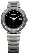 Jowissa Women's J1.177.M Soletta Black Dial Tungsten Bracelet Date Watch