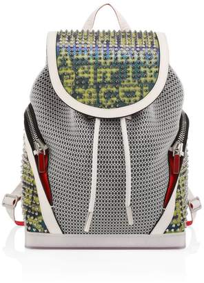 Christian Louboutin Explorafunk Spiked Drawstring Backpack
