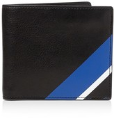 Polo Ralph Lauren Striped Leather Billfold Wallet