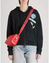 Off-White Flower Tape cotton-jersey hoody