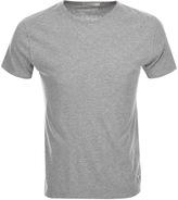 Nudie Jeans Glenn Crew Neck T Shirt Grey