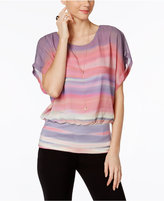 Joseph A Striped Dolman-Sleeve Top