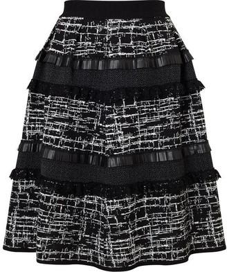 James Lakeland Jacquard Mix Fabric Skirt