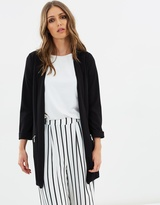 Wallis Long-Line Blazer Jacket