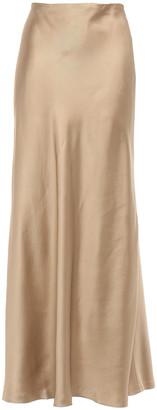 Zimmermann Unbridled Satin-twill Maxi Skirt