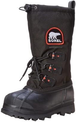 Sorel Women's GLACIER XT Boots Black/Red (Red Quartz) Size UK: 4