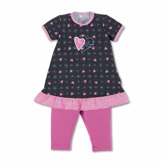 Sterntaler Baby Girls' Dress with Leggings