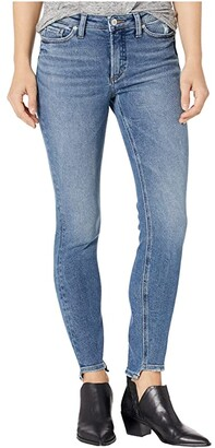 Silver Jeans Co. Most Wanted Skinny Jeans with Step Hem L63024SFV215 (Indigo) Women's Jeans