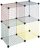 Whitmor 6256-978 Storage Cubes, Multicolor