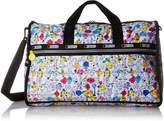 Le Sport Sac X Mr. Men Little Miss Large Weekender Duffle Bag, MR. MEN AND LITTLE MISS