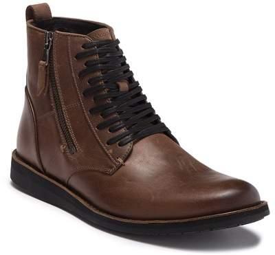 John Varvatos Star B Side Zip Leather Boot