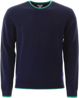 Kenzo Sweater With Tiger Patch