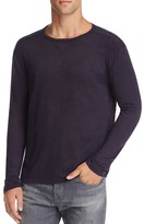 Rails Ryan Heathered Linen Long Sleeve Tee