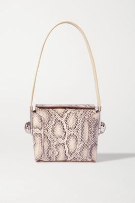 Louise et Cie Muri Snake-effect Leather Shoulder Bag - Snake print