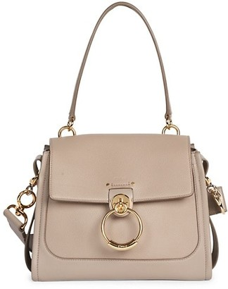 Chloé Small Tess Leather Satchel