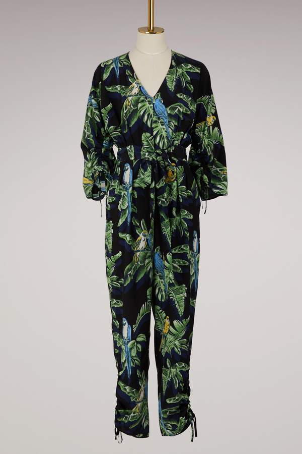 Stella McCartney Padma silk jumpsuit