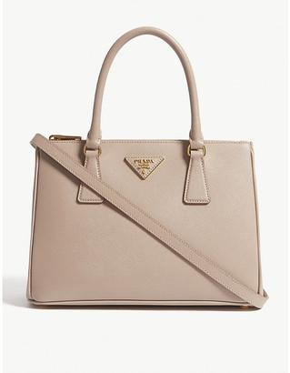 Prada Cipria Pink Saffiano Leather Tote Bag