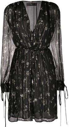 Amiri Floral Print Dress