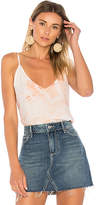 Lacausa Sofia Slip Cami in Peach. - size L (also in M,S,XS)