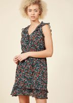 ModCloth Encouraged Imagination Floral Dress in XS