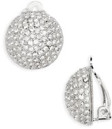 Nina Women's Clip Crystal Earrings