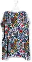 DSQUARED2 floral dress