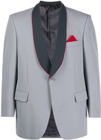 Trunks A.N.G.E.L.O. Vintage Cult 1970s Trunks' shawl lapels contrasting blazer