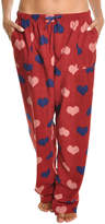 Angelina Red Heart Fleece Pajama Pants - Plus Too