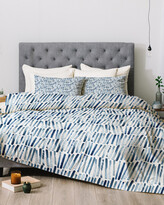 Thumbnail for your product : Deny Designs Dash And Ash Strokes And Waves Comforter Set