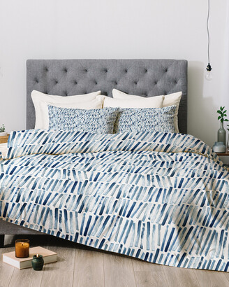 Deny Designs Dash And Ash Strokes And Waves Comforter Set