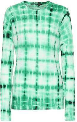 Proenza Schouler Tie-dye cotton T-shirt