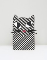 Lulu Guinness Stripey Kooky Cat iPad Mini Case