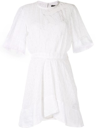 Isabel Marant Qadley broderie dress