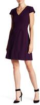 Eliza J Cap Sleeve Fit & Flare Dress