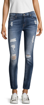 7 For All Mankind Logo Patch Skinny Jean
