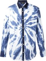 DSQUARED2 tie-dye shirt - men - Cotton - 46