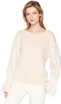 Stateside Women's Puff Sleeve Pullover