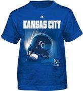 Majestic Toddlers' Kansas City Royals Kinetic Helmet T-Shirt