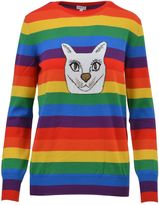 Loewe Knit Multicolor Pullover Cat