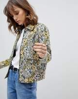 Selected Floral Printed Jacket