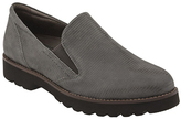 Earthies Gray Suede Almada Loafer