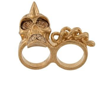 Alexander McQueen Pre-Owned Skull Ring