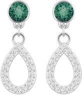 Swarovski Petal Drop Pierced Earrings